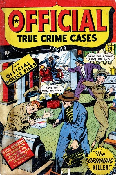 Official True Crime Cases #24 – 25 (1947)