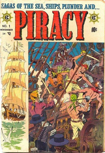 Piracy #1 – 7 (1954-1955)