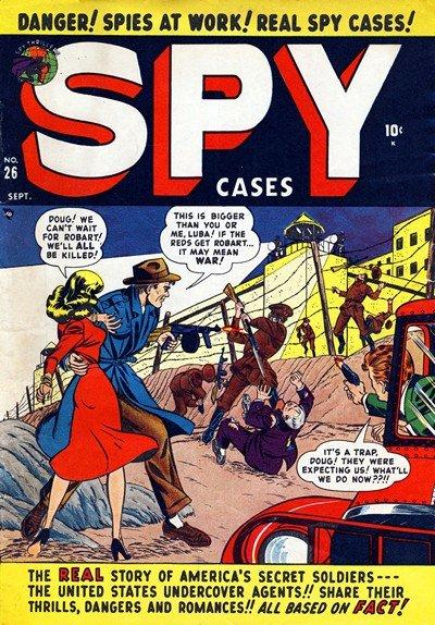 Spy Cases #26 – 28 (1950-1951)
