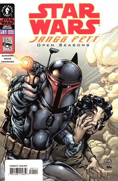 Star Wars – Jango Fett – Open Seasons #1 – 4 (2002)