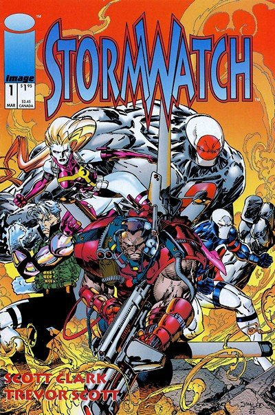Stormwatch Vol. 1 – 3 + Extras (Collection)