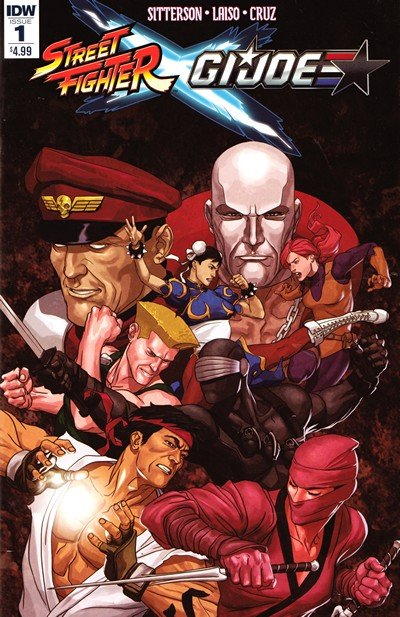 Street Fighter X G.I. Joe #1 – 6 (2016)