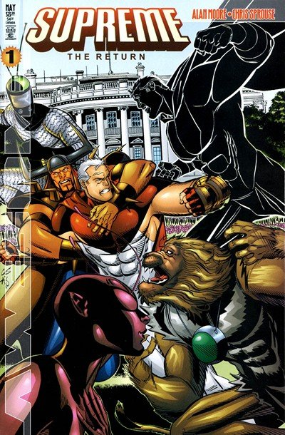 Supreme The Return #1 – 6 (1999-2000)
