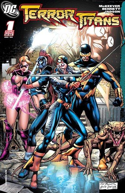 Terror Titans #1 – 6 (2008-2009)