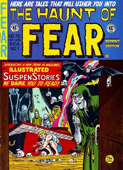 The Haunt Of Fear #1 – 28 (1950-1954)
