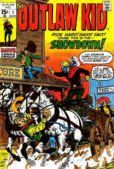 The Outlaw Kid Vol. 2 #1 – 30 (1970-1975)