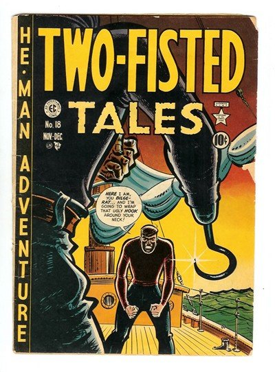 Two-Fisted Tales #18 – 41 (1950-1955)
