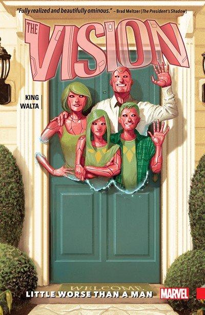 Vision Vol. 1 – Little Worse Than A Man (2016)