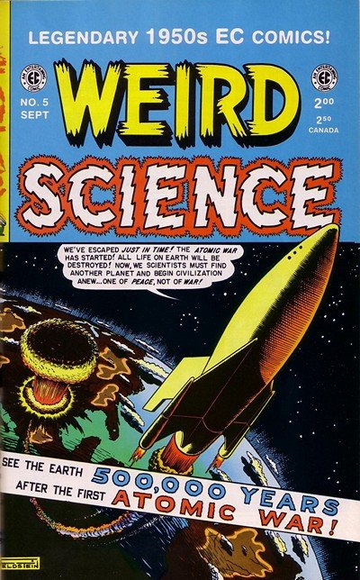 Weird Science #1 – 22 (1950-1953)