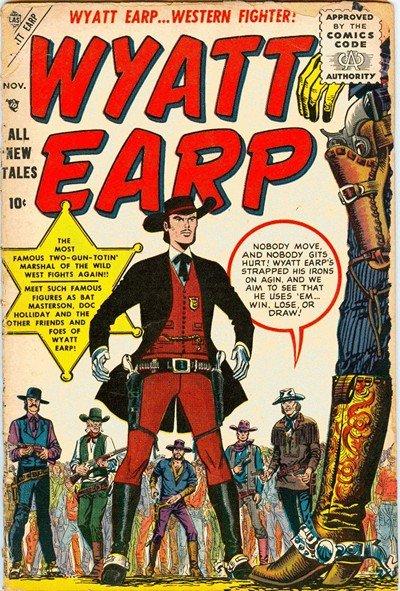 Wyatt Earp #1 – 34 (1955-1973)