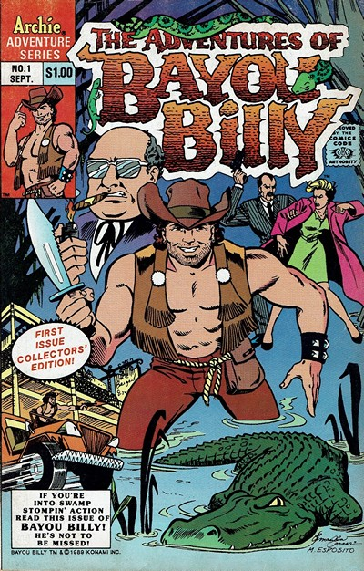 Adventures of Bayou Billy #1 – 5 (1989)