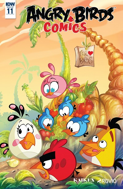 Angry Birds Comics #11 (2016)