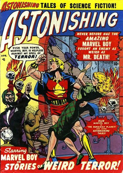 Astonishing #3 – 63 (1951-1957)