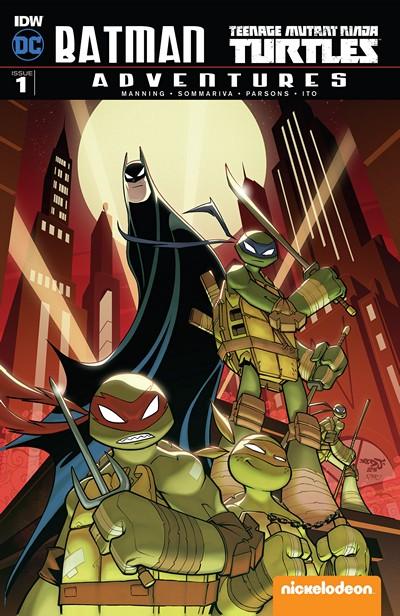 Batman – Teenage Mutant Ninja Turtles Adventures #1 (2016)
