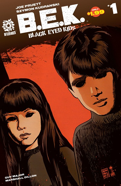 Black-Eyed Kids #1 – 13 (2016-2017)
