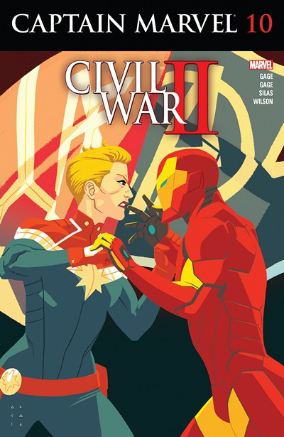 Captain Marvel #10 (2016)