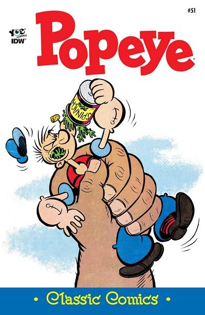 Classic Popeye #51 (2016)