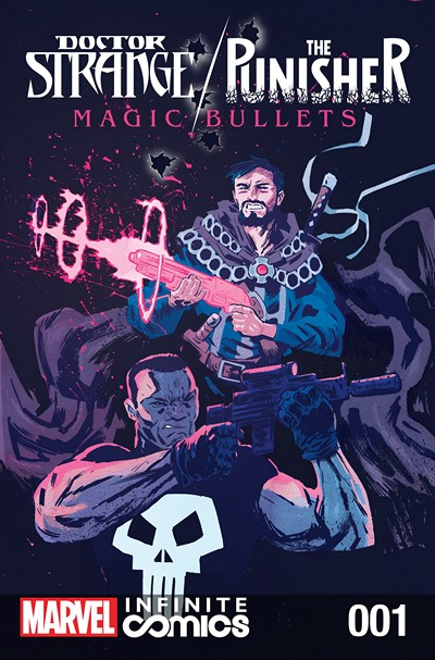 Doctor Strange – The Punisher – Magic Bullets Infinite Comic #1 (2016)
