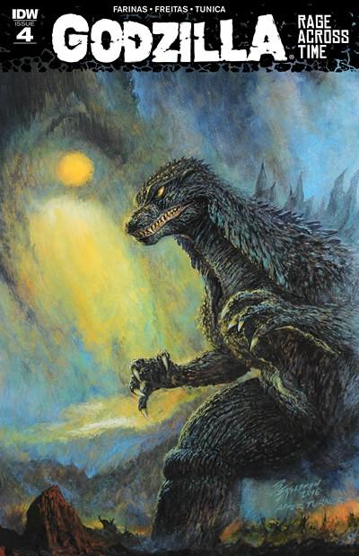 Godzilla – Rage Across Time #4 (2016)