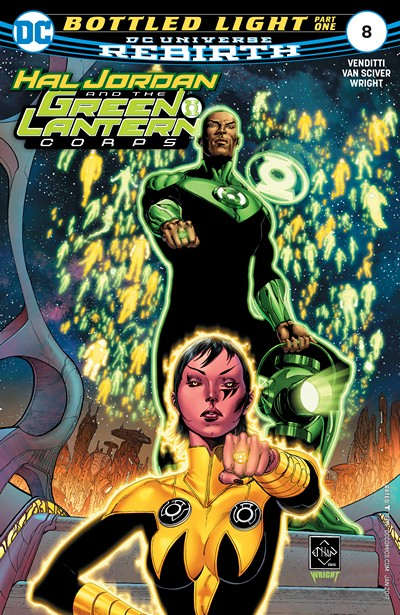 Hal Jordan and the Green Lantern Corps #8 (2016)