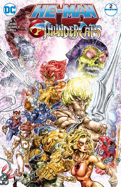 He-Man – Thundercats #2 (2016)