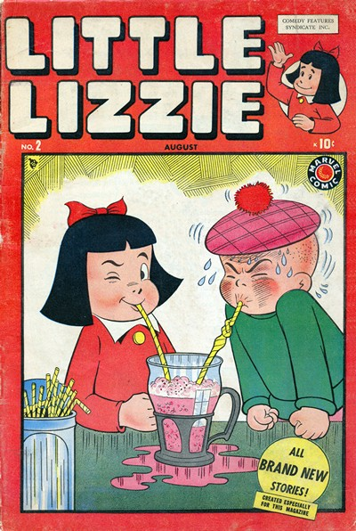 Little Lizzie #1 – 5 (1953-1955)