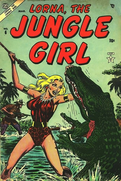 Lorna the Jungle Girl #6 – 26 (Continues Lorna Jungle Queen) (1954-)