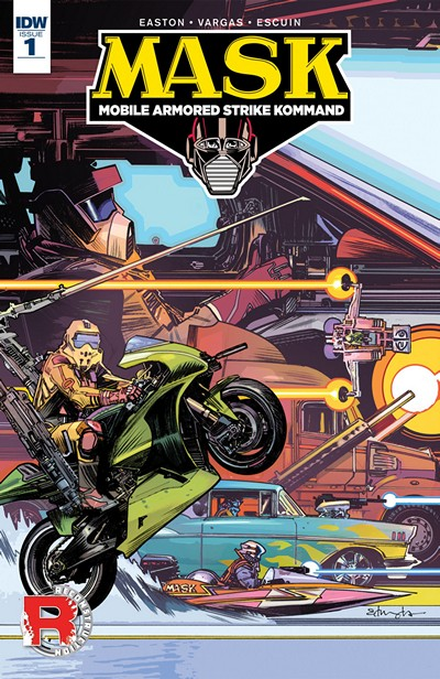 M.A.S.K. – Mobile Armored Strike Kommand #1 (2016)