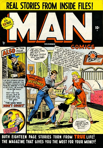 Man Comics #1 – 28 (1949-1953)