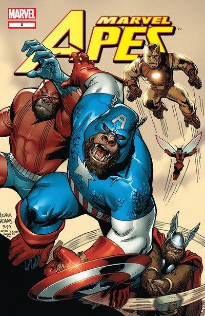 Marvel Apes #0 – 4 (2008)