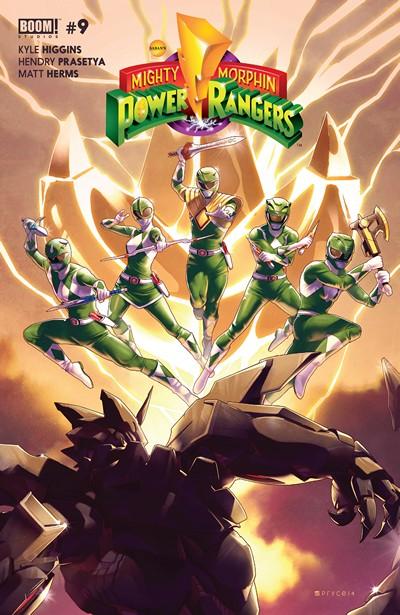 Mighty Morphin Power Rangers #9 (2016)