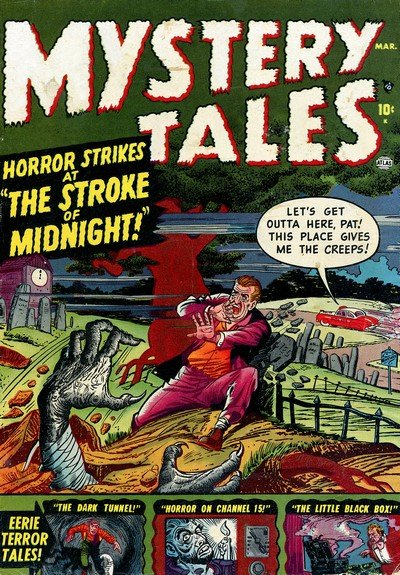 Mystery Tales #1 – 54 (1952-1957)
