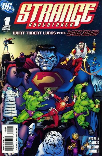 Strange Adventures #1 – 8 (2009)