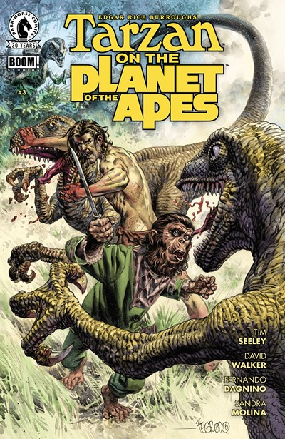 Tarzan on the Planet of the Apes #3 (2016)