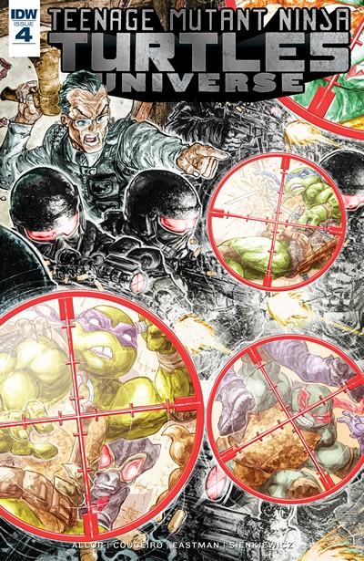Teenage Mutant Ninja Turtles Universe #4 (2016)