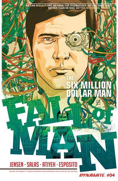 The Six Million Dollar Man – Fall of Man #3 (2016)