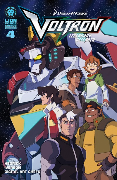 Voltron – Legendary Defender #4 (2016)