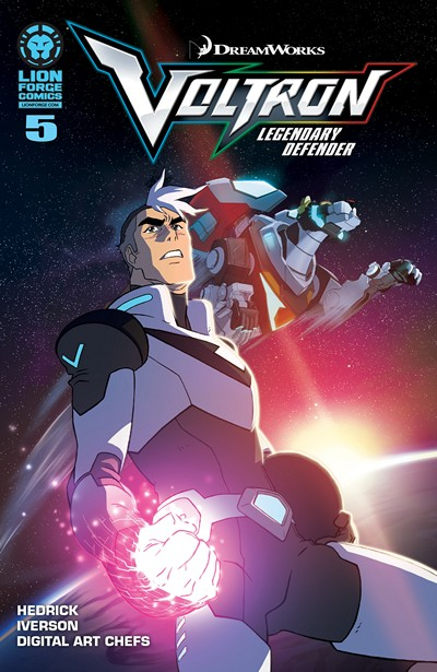 Voltron – Legendary Defender #5 (2016)
