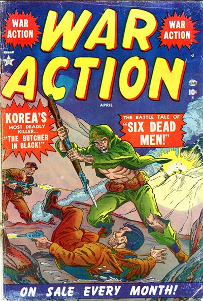 War Action #1 – 14 (Incomplete) (1952-1953)