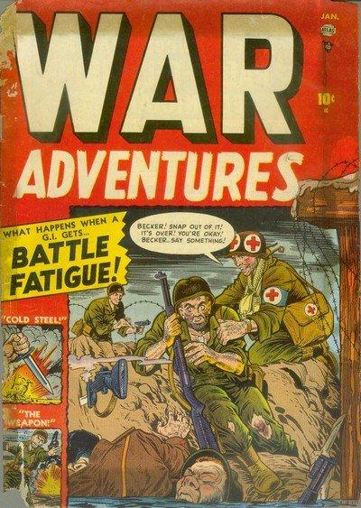 War Adventures #1 – 13 (1952-1953)