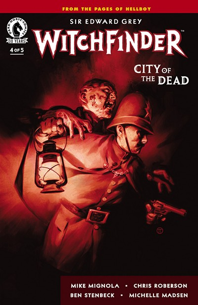 Witchfinder – City of the Dead #4 (2016)