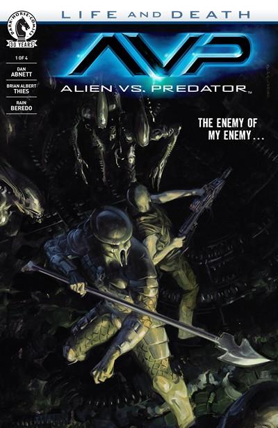 Aliens vs. Predator – Life and Death #1 (2016)