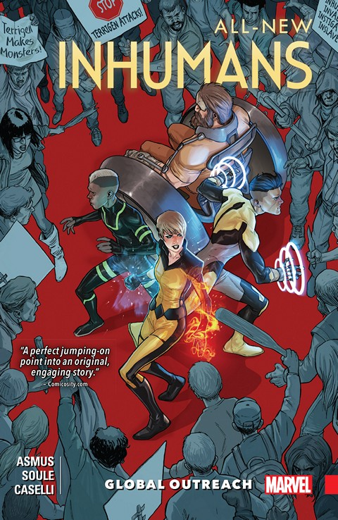 All-New Inhumans Vol. 1 – Global Outreach (2016)