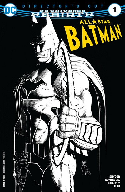 All-Star Batman #1 Director's Cut (2016)