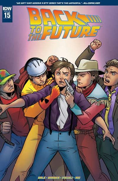Back to the Future #15 (2016)
