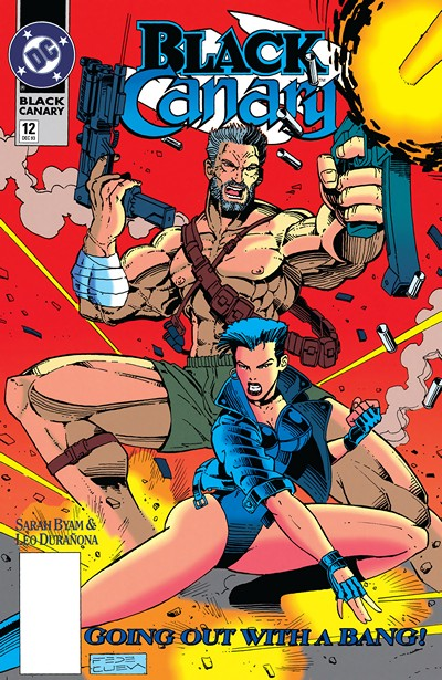 Black Canary #4 – 12 (1993)