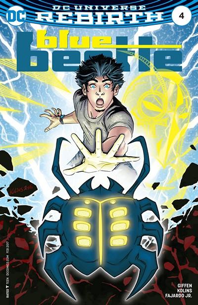 Blue Beetle #4 (2016)