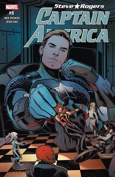 Captain America – Steve Rogers #8 (2016)