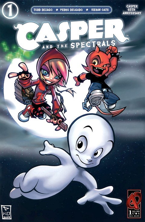 Casper and the Spectrals #1 – 3 (2009-2010)