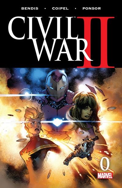 Civil War II #0 – 8 + Mini-Series + Tie-Ins (2016)